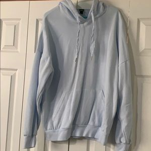 wild Fable women's oversized blue hoodie- large